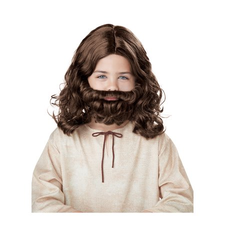 Child Jesus Wig and Beard by California Costumes 70753](Wigs In St Louis)
