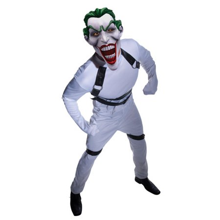 joker straight jacket dark knight mens halloween costume