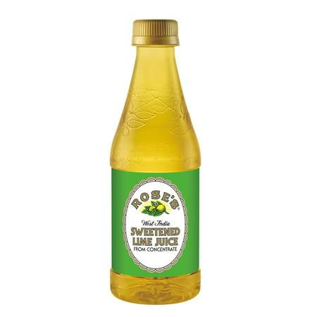 (12 Bottles) Rose's Sweetened Lime Juice, 12 Fl Oz (Lime Juice Margarita)