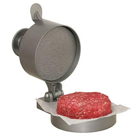 weston burger express hamburger press with patty ejector (07-0310-w), makes 4 1/2