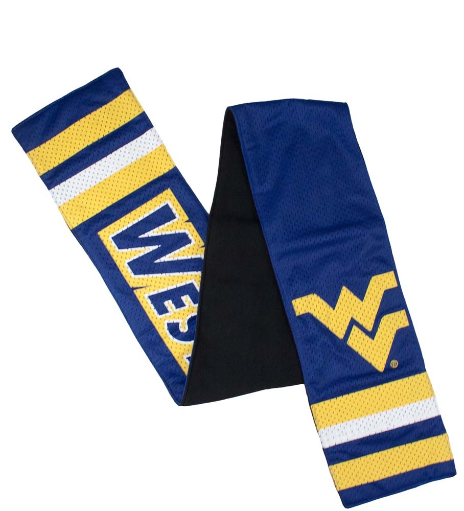 West Virginia Jersey Fashion Scarf