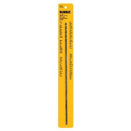 """Dewalt Accessories 3/16 x 12"""" High-Speed Split-Point Steel Drill Bit"""
