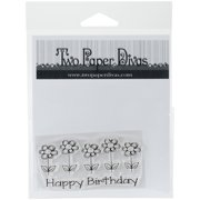 Two Paper Divas Clear Stamps 6 Inch X 4.5 Inch-Birthday Flowers