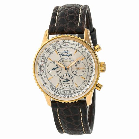 Pre-Owned Breitling Navitimer H30030 Gold Watch (Certified Authentic & Warranty)