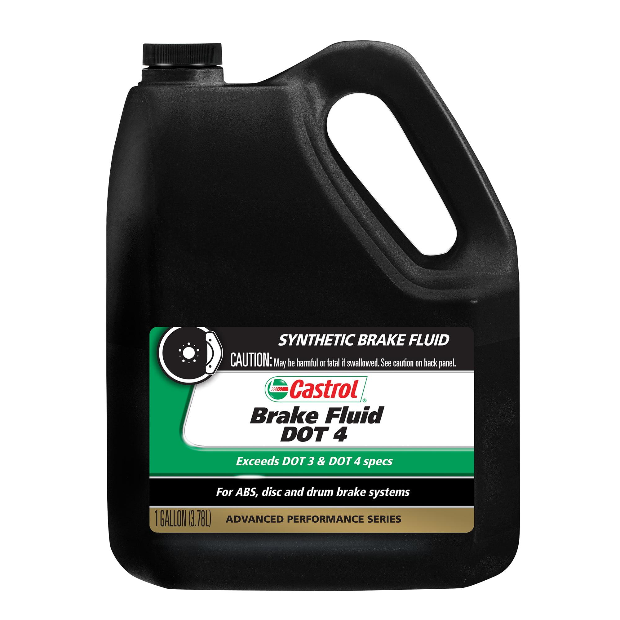 Castrol Brake Fluid DOT 4, 1 GAL