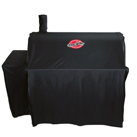 Char-Griller Outlaw Cover, Black, 3737, Fits Outlaw Charcoal Grill model (Fits Grills)