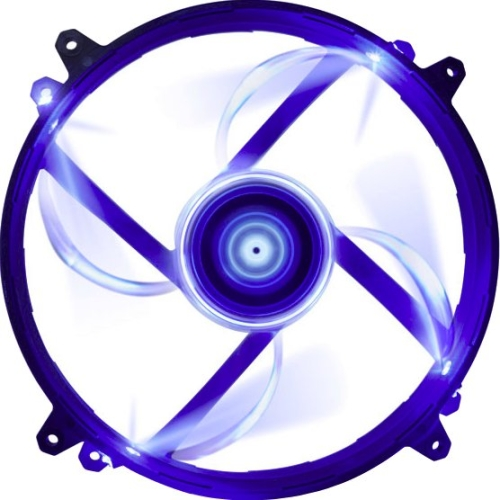 "Nzxt Fz 200mm Led Cooling Fan - 1 X 7.87"" - 700 Rpm - Sleeve Bearing (135434)"