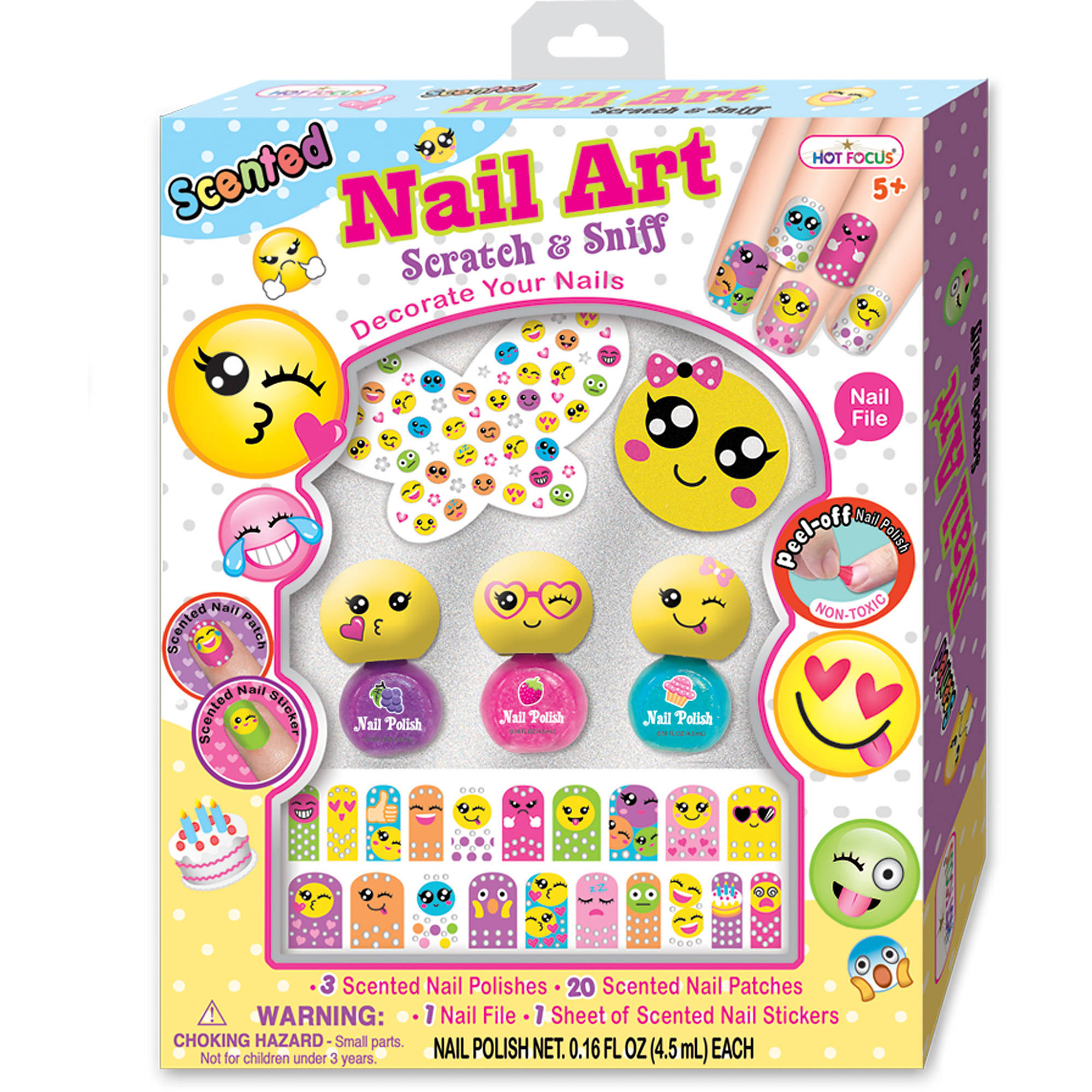 Hot Focus Scented Nail Collection, Emoji