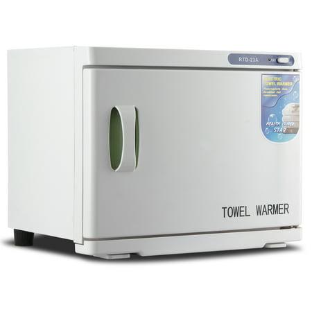 (Bellavie 23L 2-in-1 Hot Towel Warmer Sterilizer Facial Spa Cabinet Salon Heater, Built-in UV Light)