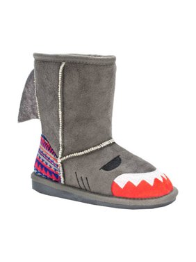 MUK LUKS Kid's Finn Shark Boots