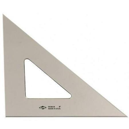 "Image of 12"" Smoke-Tint Triangle 45 °/90 °"