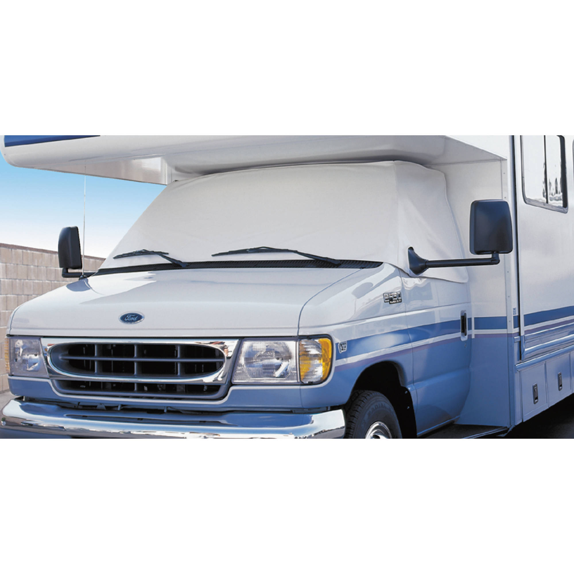 Rv covers adco class c windshield cover for rv white fandeluxe Gallery