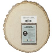 Walnut Hollow Basswood Country Round, Thick 9 to 11.5 inches