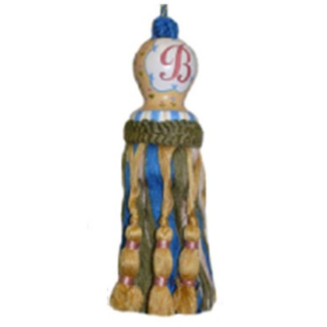 123 Creations CK094SS Initial S hand painted tassel