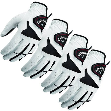 Callaway XTT Xtreme Left-Hand Golf Glove 4 Pack Bundle