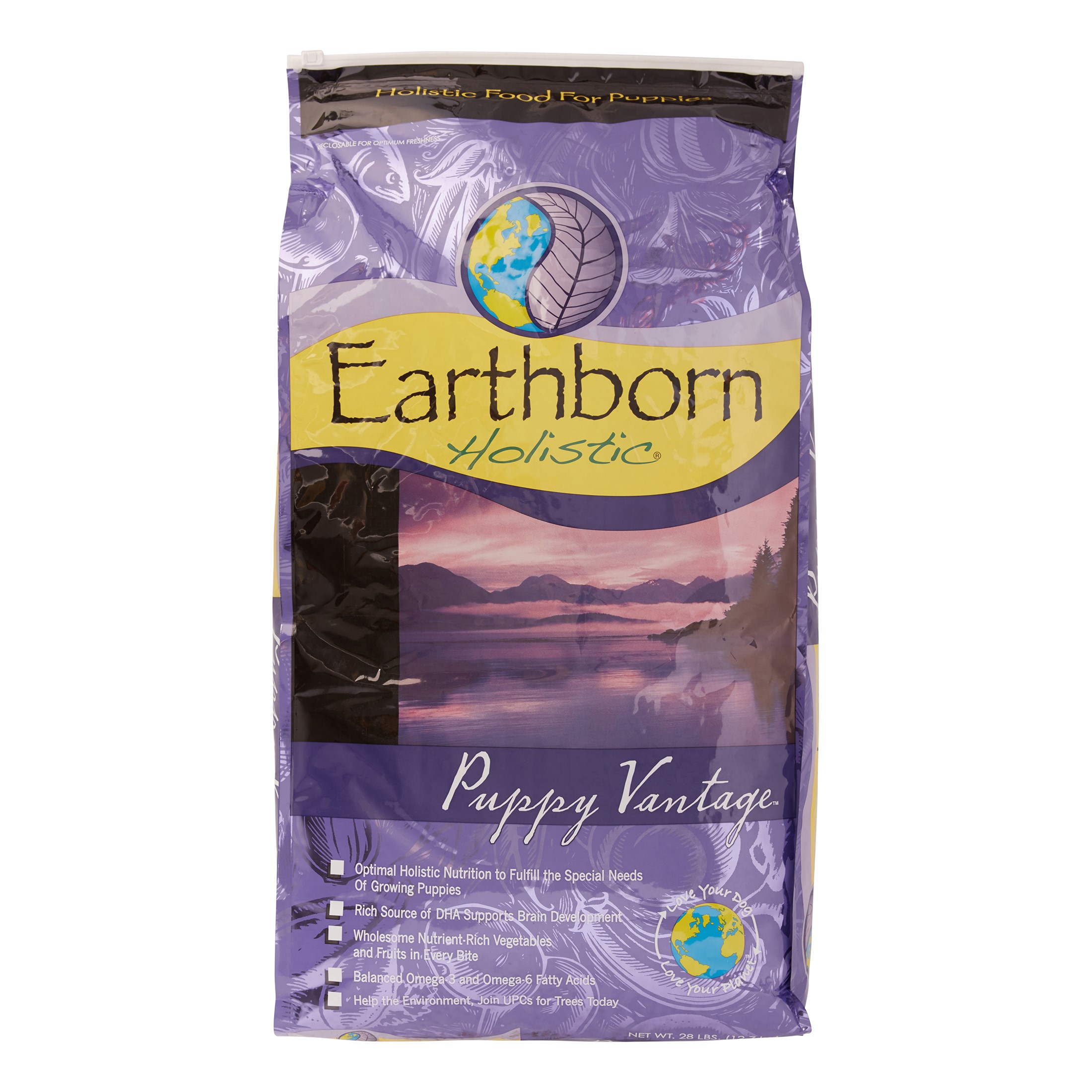 Earthborn Holistic Puppy Vantage Dry Dog Food, 28 lb