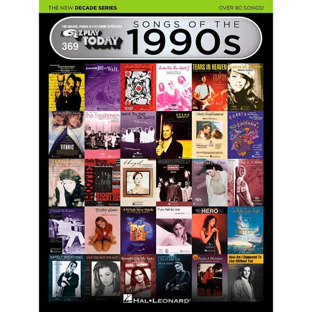 Hal Leonard Songs of the 1990s – The New Decade Series-E-Z Play® Today Volume 369 (1990s Halloween Songs)