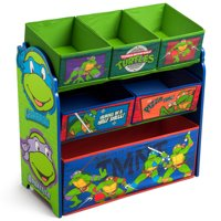 Teenage Mutant Ninja Turtles Multi-Bin Toy Organizer by Delta Children