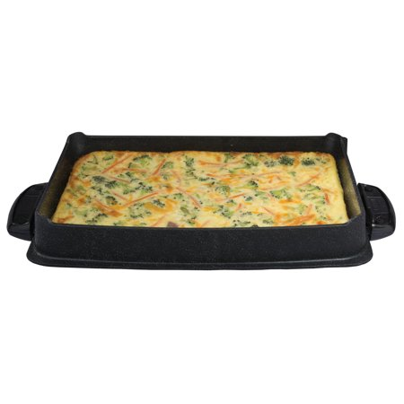 - George Foreman Evolve Deep-Dish Bake Pan Accessory Plate, GFP84BP