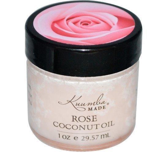 Kuumba Made, Rose Coconut Oil, 1 oz (29.57 ml) by Kuumba Made