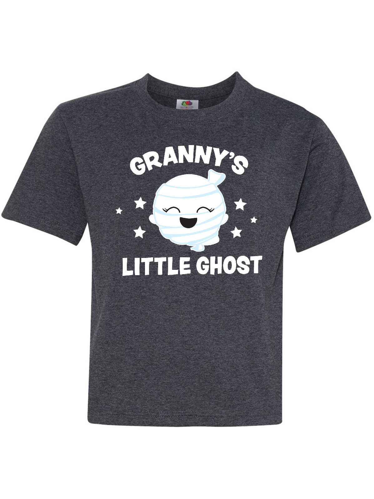 inktastic Cute Grannies Little Ghost with Stars Toddler T-Shirt