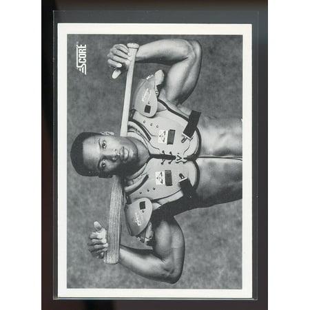 1990 score #697 BO JACKSON football/baseball kansas city royals (Mike Jackson Baseball Cards)