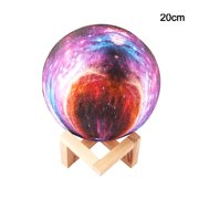 Rechargeable Moon Lamp Moonlight 3D Print Night LED Lamp Bedside Table Children's Night Light Decor;Rechargeable Moon Lamp Moonlight 3D Print Night LED Lamp Table Decor