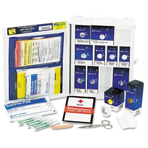 First Aid Only Inc 1050 Medium First Aid Kit, 112 Pieces, Osha Compliant, Metal Case