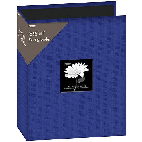 "Pioneer  Family Treasures Fabric Post Bound Album 8.5/""X11/""-Rich Bordeaux"