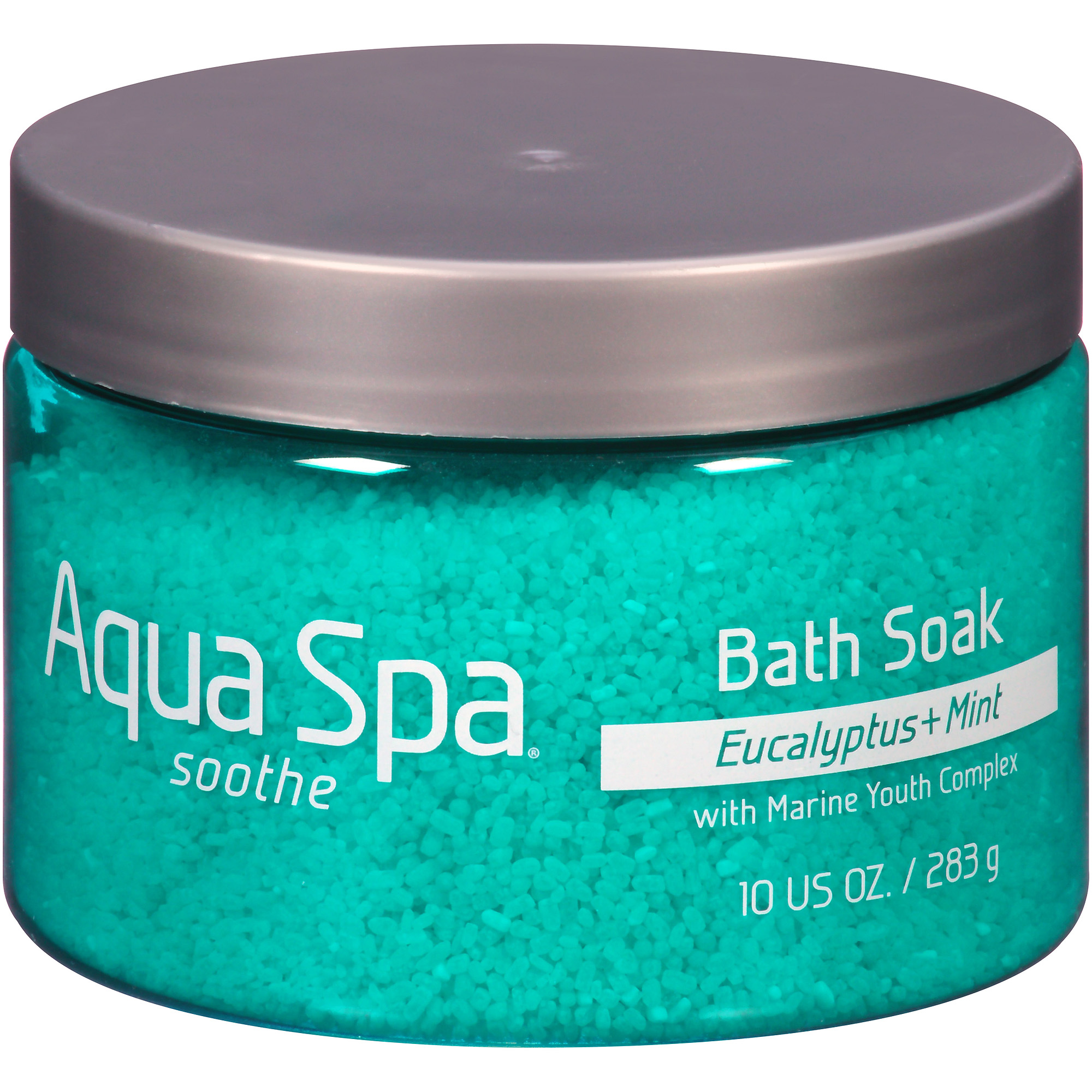 Aqua Spa Eucalyptus + Mint Soothe Bath Soak, 10 oz