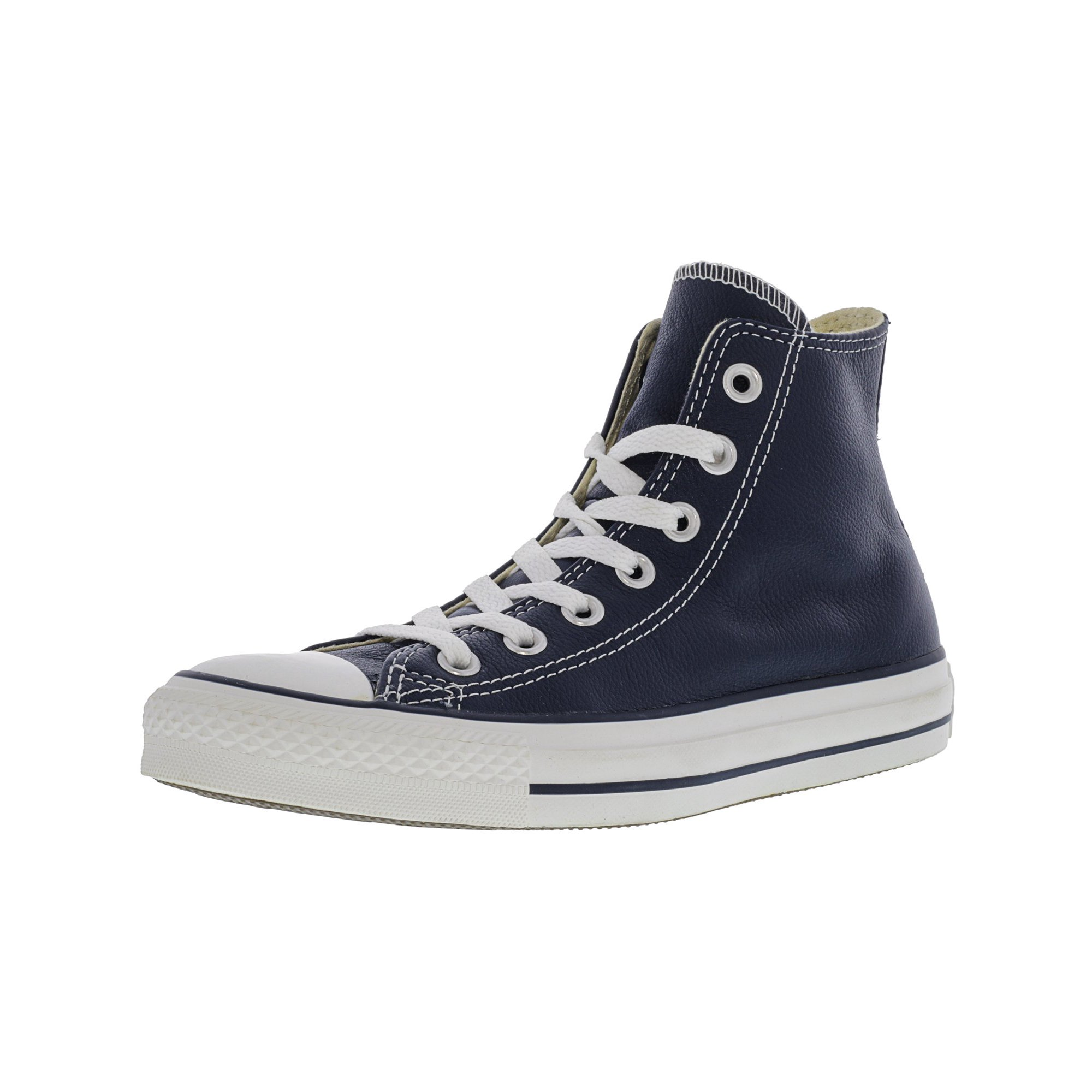 85ad3b97574c Converse Chuck Taylor All Star Hi Red High-Top Leather Fashion Sneaker - 6M    4M