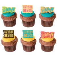 Party & Wish Big Cupcake Rings 12ct