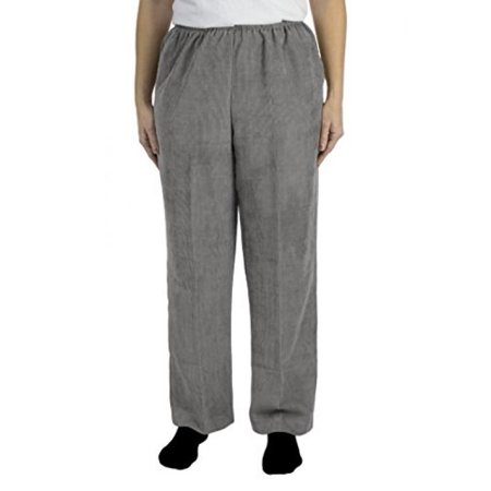 Alfred Dunner C4 Classics Missy Style 06100 Proportioned Short Pant Grey Size 14