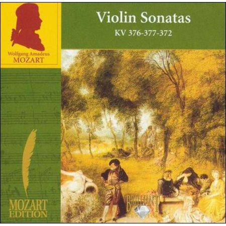 MOZART: VIOLIN SONATAS KV 376, 377, 372 ()