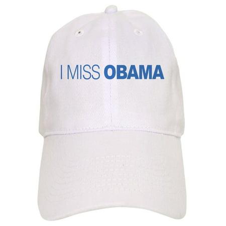 CafePress - I Miss Obama - Printed Adjustable Baseball Cap