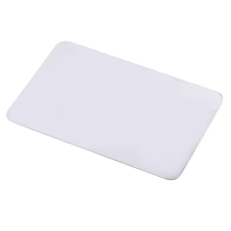 Ccdes Cosmetic Mixing Tool, Mixing Palette,Small Stainless Steel Makeup Palette Rectangle Shape Foundation Mixing Plate Tools With Spatula - image 3 of 8