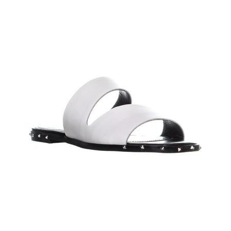 Marc Fisher Jaylin Cut Out Slide Sandals, White - image 6 de 6