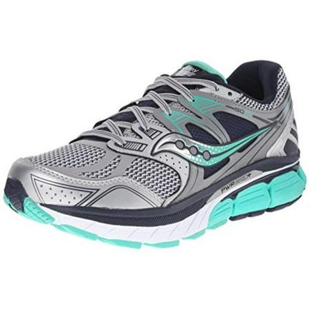 Saucony Women's Redeemer Iso Running Shoe, SilverGrey, 8.5 M US