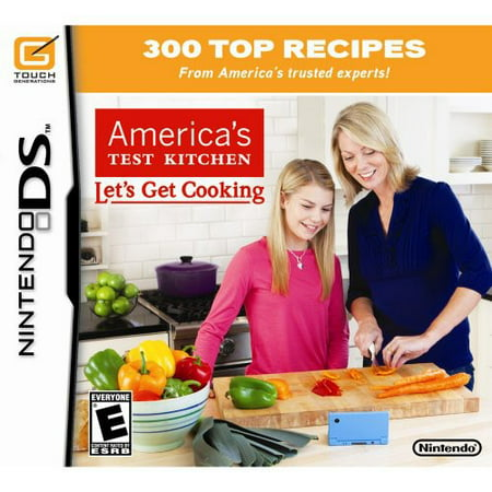 Americas Test Kitchen  Get Cooking For Nintendo Ds