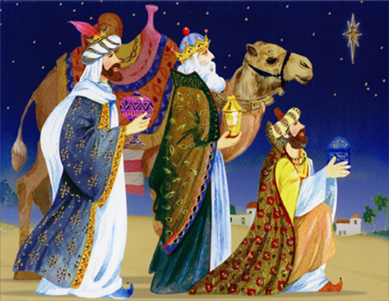 Hallmark Business Christmas Card for Customers Pack of 25 Greeting Cards Christmas Wisemen 3