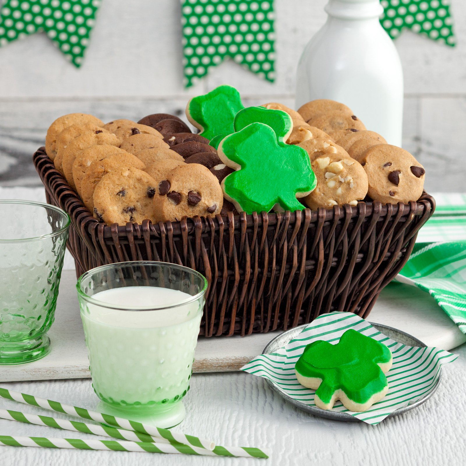 Mrs Fields St Patrick's Day Gift Basket