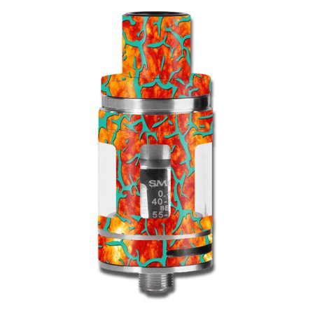 Skin Decal For Smok Micro Tfv8 Baby Beast Vape Mod / Kobe Design Orange