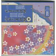 "Origami Paper 5.875""X5.875"" 200 Sheets-Miyabi Chiyogami"