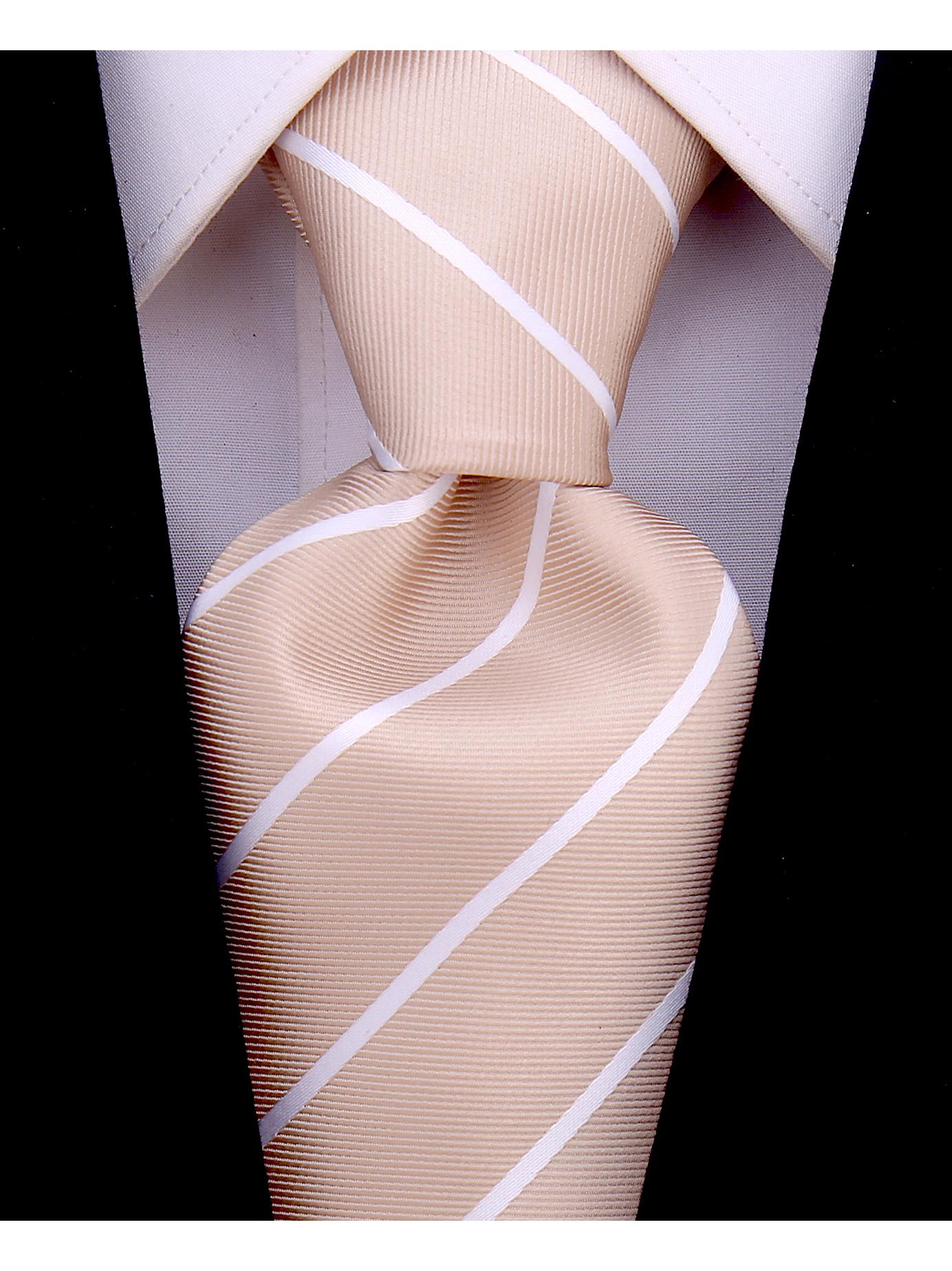 Scott Allan Mens Necktie | Pencil Striped Mens Tie