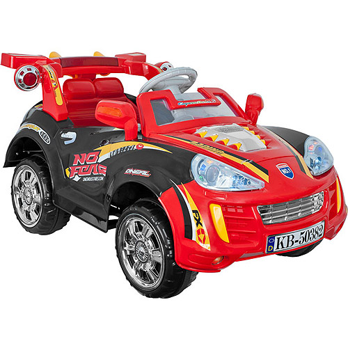 Lil' Rider Edge Sports Car 6-Volt Battery-Powered Ride-on with Remote