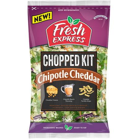 fresh express salad chipotle cheddar chopped kit oz. Black Bedroom Furniture Sets. Home Design Ideas