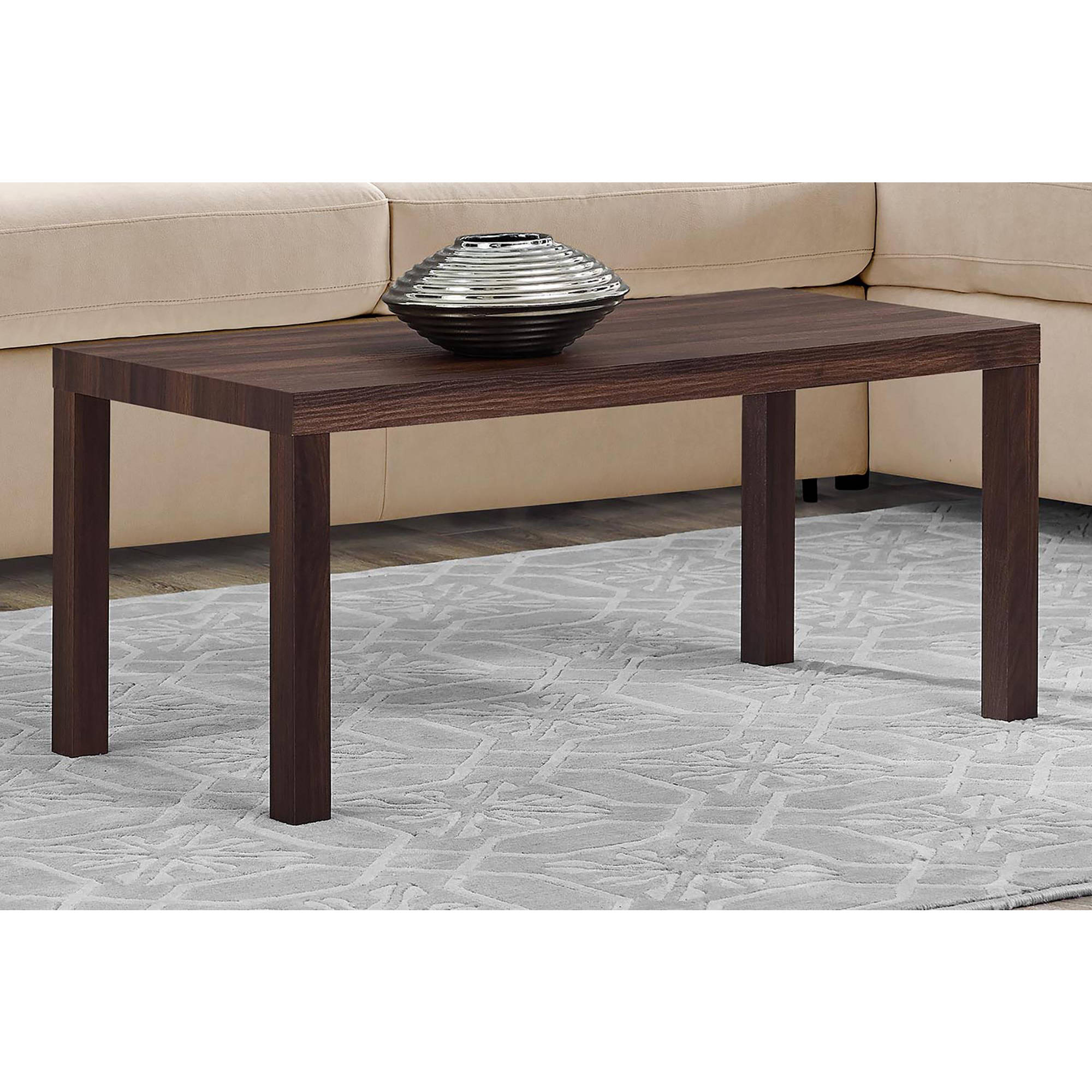 mainstays parsons coffee table, multiple colors - walmart