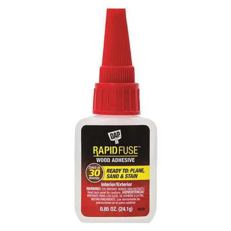 Fast Drying Wood - DAP RapidFuse Fast Curing Wood Adhesive, 0.85 oz.