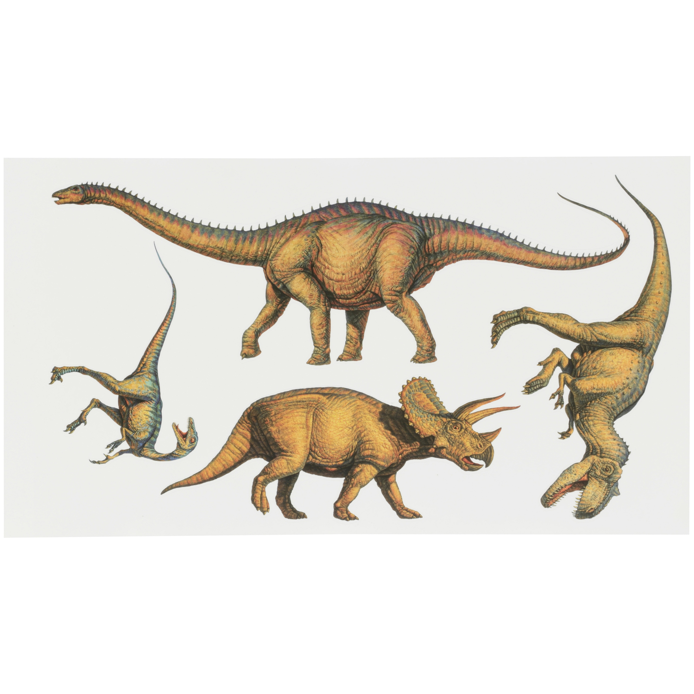 RoomMates® Dinosaurs Peel & Stick Wall Decals 16 ct Pack
