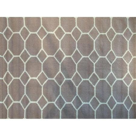 Honeycomb Blue - 5 ft x 7 ft Space Rug - image 1 de 1